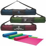 Custom Yoga Fitness Mat & Carrying Case