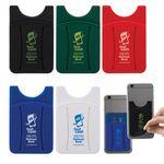 Custom Finger Grip Cell Phone Card Holder