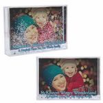 Custom Snow Globe Photo Frame