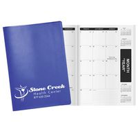 Flex Colors Deluxe Academic Monthly Planner