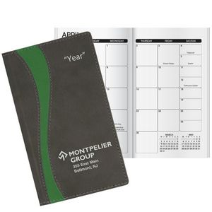 Duo Curve Work Monthly Pocket Planner
