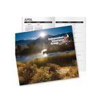 Custom Full Color Stock Monthly Pocket Planner