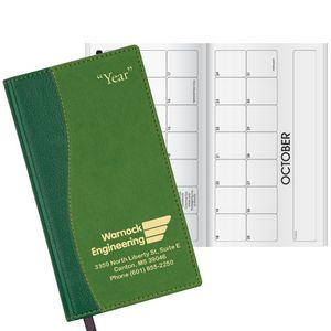 Duo Surge Horizontal Monthly Pocket Planner