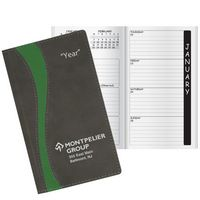 Duo Curve Academic Weekly Pocket Planner