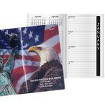 Custom Patriotic Liberty Academic Weekly Pocket Planner