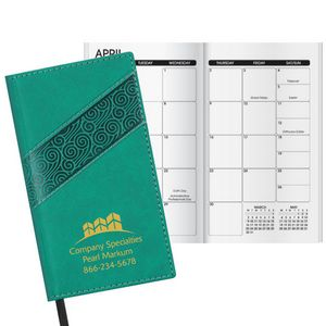 Duo Swirl Work Monthly Pocket Planner