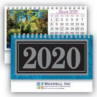 Deluxe Marble Desk Calendar