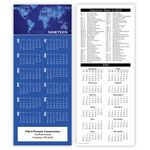 Custom 2-Sided World Lights Calendars