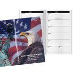 Custom Patriotic Liberty Bi-Weekly Pocket Planner