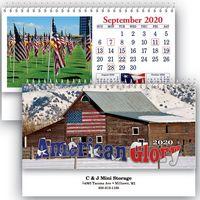American Glory Standard Desk Calendar