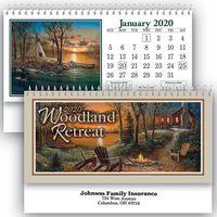 Woodland Retreat Standard Desk Calendar