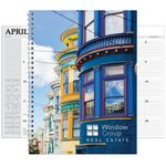 Custom Hdi Full Color Spiral Desk Planner (7X10)