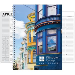 Hdi Full Color Spiral Desk Planner (7X10)