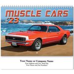 Custom Muscle Cars Spiral Wall Calendar