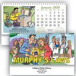 Custom Murphy's Laws Standard Desk Calendar