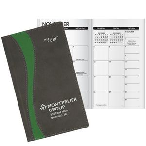 Duo Curve 2 Year Monthly Pocket Planner