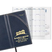 Legacy Hadley Classic Monthly Pocket Planner w/4 Color Map