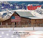 Custom American Glory Spiral Wall Calendar