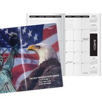 Patriotic Liberty Academic Monthly Pocket Planner