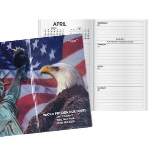 Patriotic Liberty Classic Weekly Pocket Planner