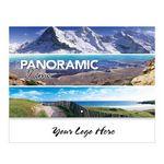 Custom Panoramic Memo Stitched Wall Calendar