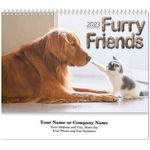 Custom Furry Friends Spiral Wall Calendar