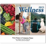 Custom Wellness Spiral Wall Calendar