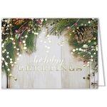 Custom Rustic Holiday Greeting Card