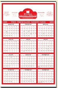 Year-at-a-Glance Commercial Wall Calendar (22x34)