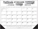 Custom Jumbo Desk Pad Calendar w/12 Month Calendar Desk Pad- Top Imprint