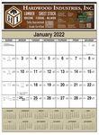 Custom Full Color Contractor Calendar