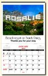 Custom In The Image Personalized Wall Calendar (1 Image)