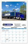 Deluxe 12 Scene Custom Calendar w/ Saddle Stitched Binding