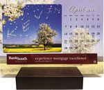 Custom In the Image Personalized Wooden Base Calendar