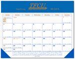 Custom 12 Month Calendar Leatherette Planner