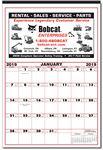 Custom Mini Wall Memo Calendar