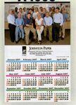 Custom Custom Color Year-at-a-Glance Wall Calendar (11