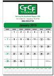 Custom Mini Contractor Wall Calendar