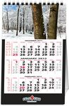 In the Image 12 Image Tent Vertical Desk Calendar (5.5