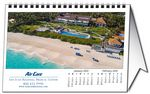 Custom Custom Horizontal Tent Desk Calendar (8.5