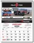 Custom 12 Month Large Executive Custom Wall Calendar