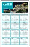 Custom Custom Color Year-at-a-Glance Wall Calendar (22