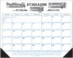 Custom Jumbo Desk Pad Calendar w/12 Month Calendar Desk Pad - Top Imprint