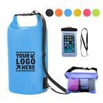 Custom Waterproof Cellphone Bag Dry Bag Set