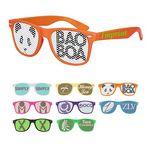Retro Specs Sunglasses W/ Pinhole Lenses
