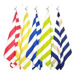 Custom Stripe Beach Towel Blanket