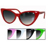 Funky Glitter Cat Eye Sunglasses