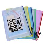 Custom A4 Zip File Folders