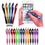 Custom 2 in 1 Capacitive Ballpoint Stylus Pens for Touch Screens