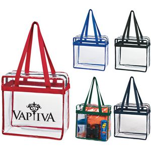Clear PVC Tote Bag - GWSJ3324SG - IdeaStage Promotional Products 45bd8c18411cf
